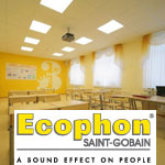 Подвесной акустический потолок Ecophon (Экофон)