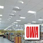 Подвесные потолки OWA